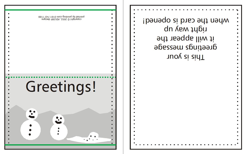 Christmas Card Printing.How To Supply Greeting Christmas Cards Edinburgh Printing